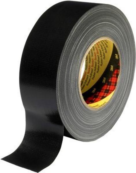 3M Scotch 389, Gewebeklebeband, schwarz