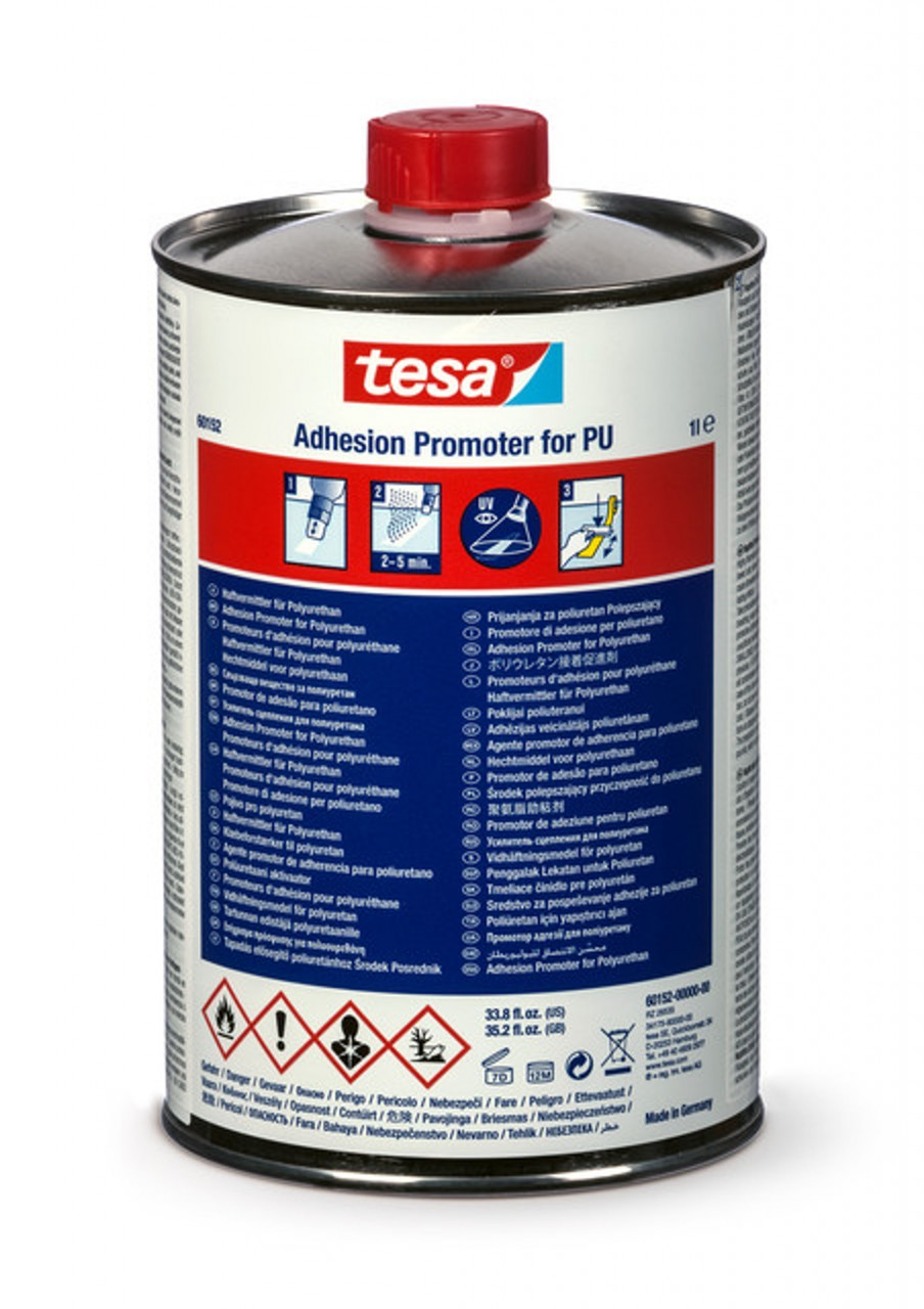 tesa 60152, Adhesions Promoter for PU, 100ml, gelb