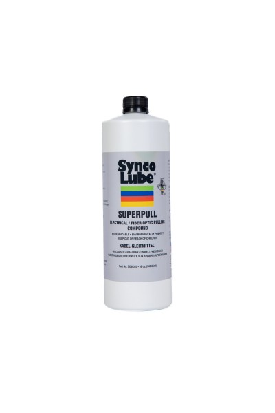 Synco Lube 80320 - Super-Pull Kabel-Gleitmittel, 946,35 ml