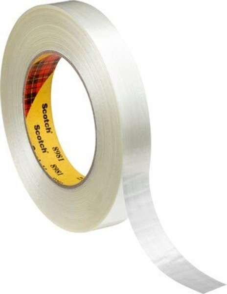 3M 8981, Hochleistungs-Filament-Klebeband, transparent