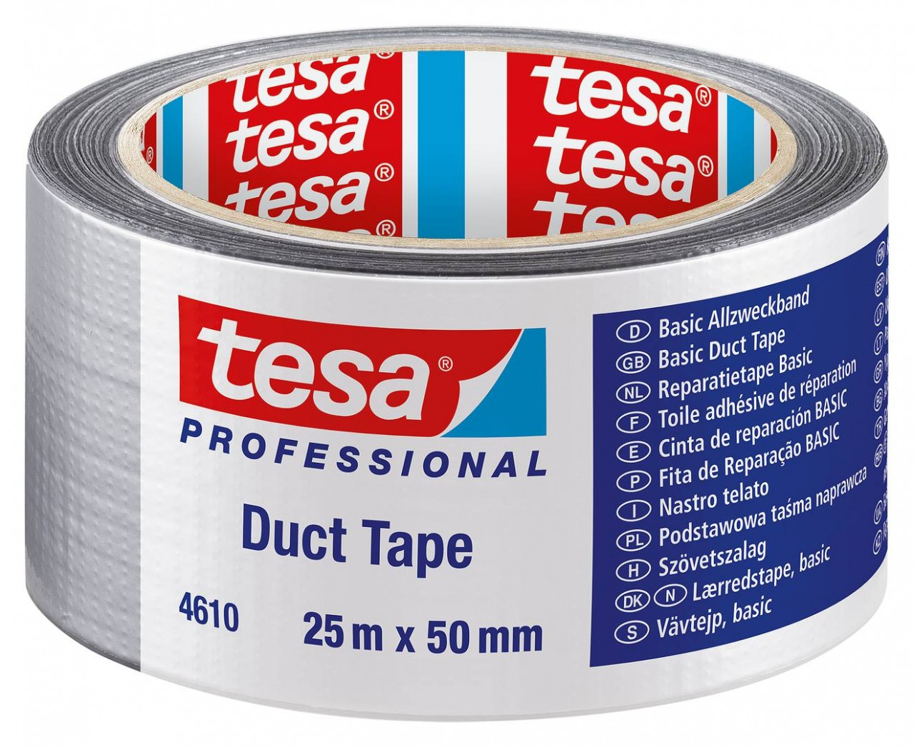 tesa 4610, PE-beschichtetes Basis Duct Tape