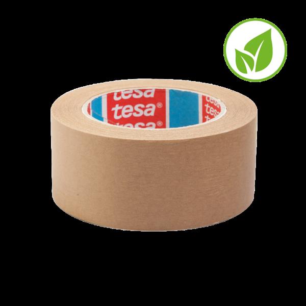 tesa 4313, Papierverpackungsklebeband, 50mm x 50m, chamois
