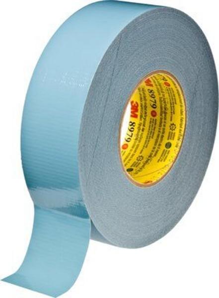 3M 8979, UV-beständiges Gewebeklebeband Duct Tape, blau