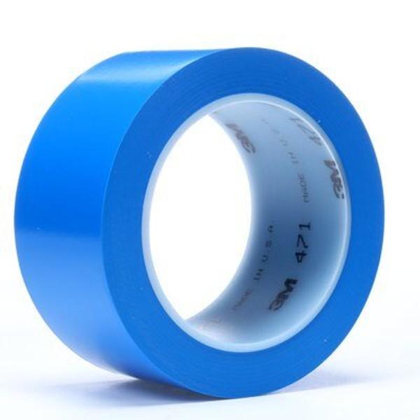 3M 471, Weich-PVC-Klebeband, 50mm x 33m, blau
