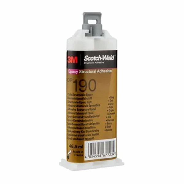 3M Scotch-Weld DP190, Klebstoff, grau