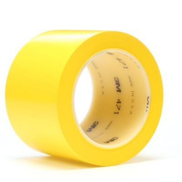3M 471, Weich-PVC-Klebeband, 50mm x 33m, gelb