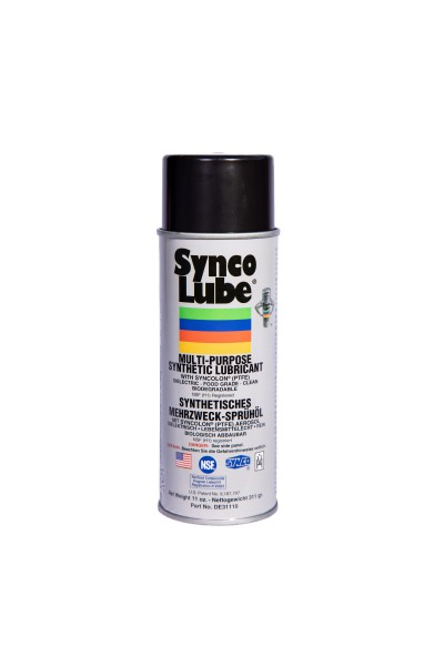 Synco Lube 31110 - Synthetisches Mehrzweck-Öl mit Syncolon (PTFE) Aerosol, 311g