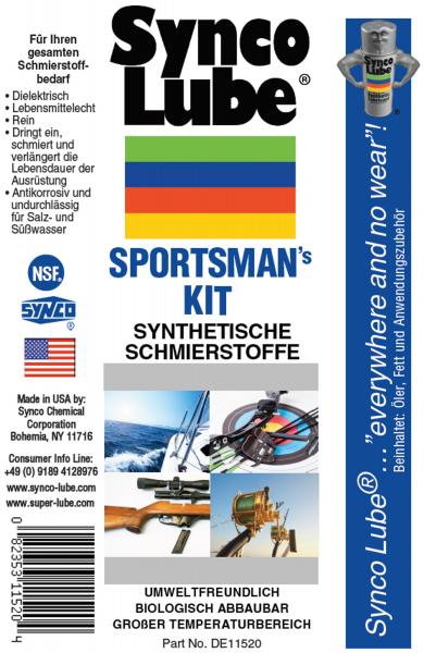 Synco Lube 11520 - Sportsman's Kit, synthetische Schmierstoffe