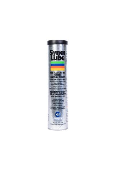 Synco Lube 71150 - Synthetisches Hochtemperatur- und Hochdruckfett mit Syncolon (PTFE), 400g
