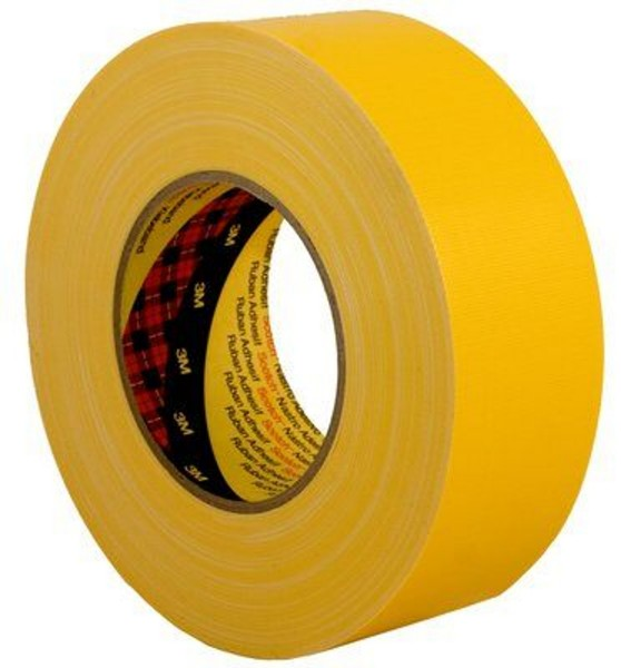 3M Scotch 389, Gewebeklebeband, gelb