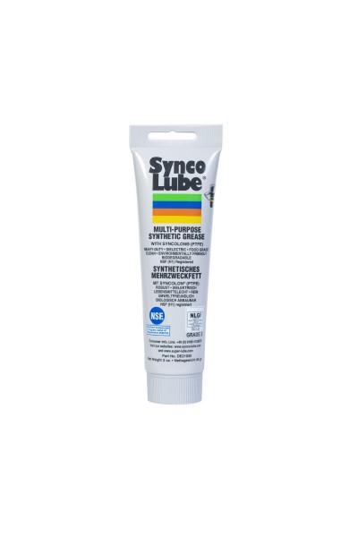 Synco Lube 21030 - Syntetisches Mehrzweckfett mit Syncolon (PTFE), 85g Tube
