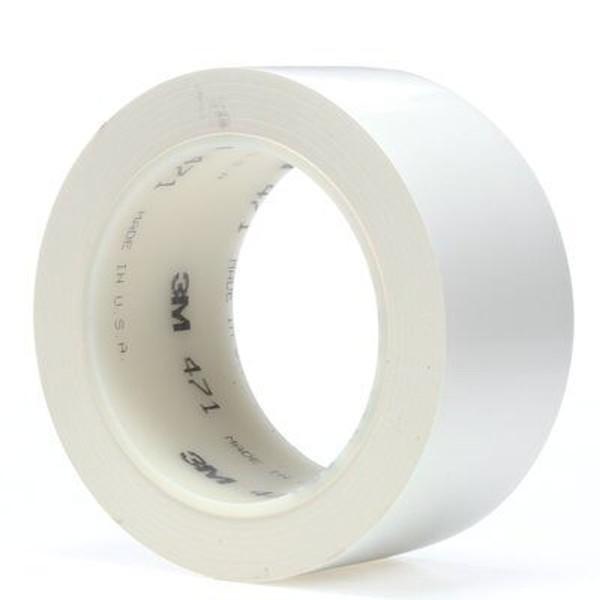 3M 471, Weich-PVC-Klebeband, 50mm x 33m, weiß