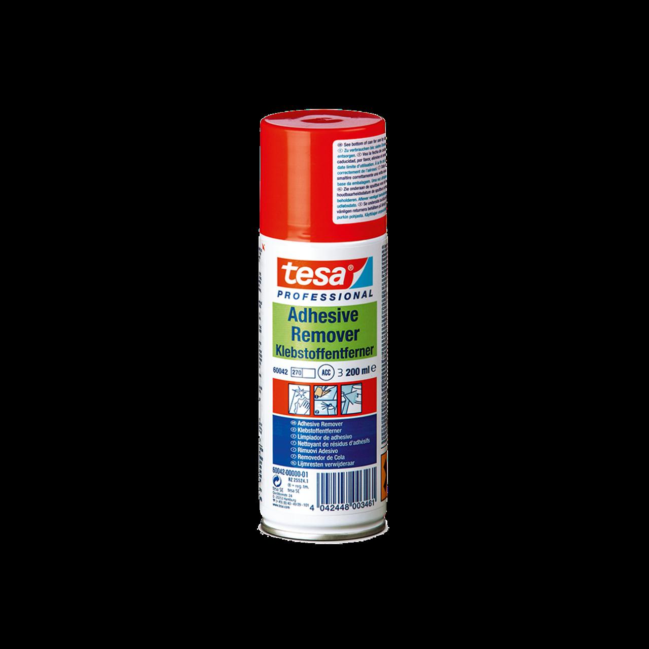 tesa 60042, Klebstoffentferner Spray, 200ml, farblos