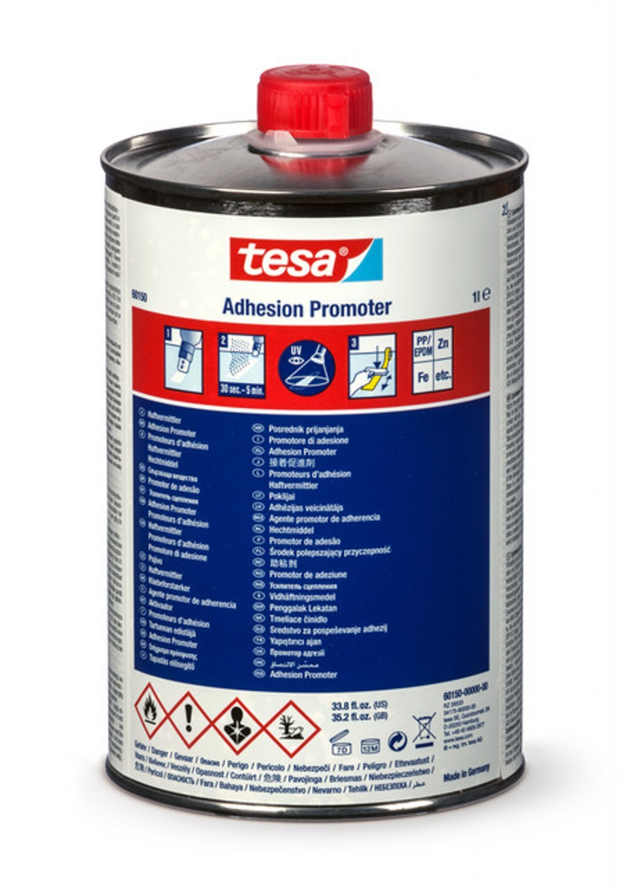 tesa 60153, Adhesion Promoter Fast Cure, 1000ml, gelb