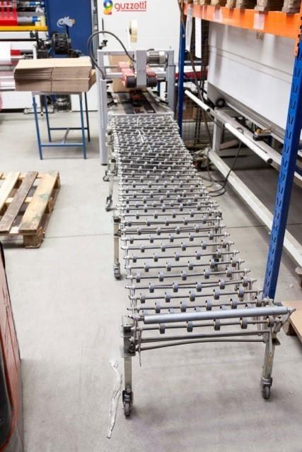 3M GTL-650, Auslauf-Rollenbahn (ausziehbar), 1,4 - 4,6m lang x 650mm breit