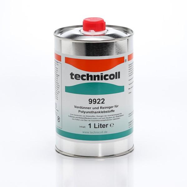 technicoll 9922, Verdünner und Reiniger für Polyurethanklebstoffe, 1L