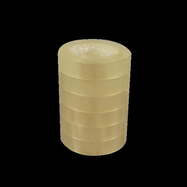 selmundo 3161, 6 Rollen Klebeband transparent, 12mm x 33m