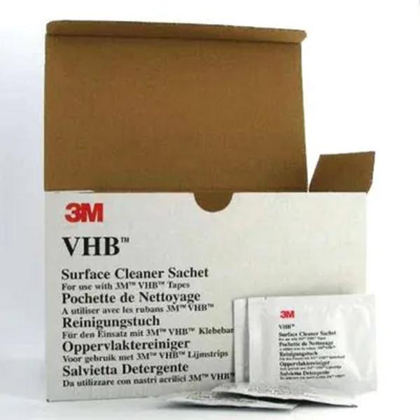 3M VHB Oberflächenreiniger, 100 Tücher