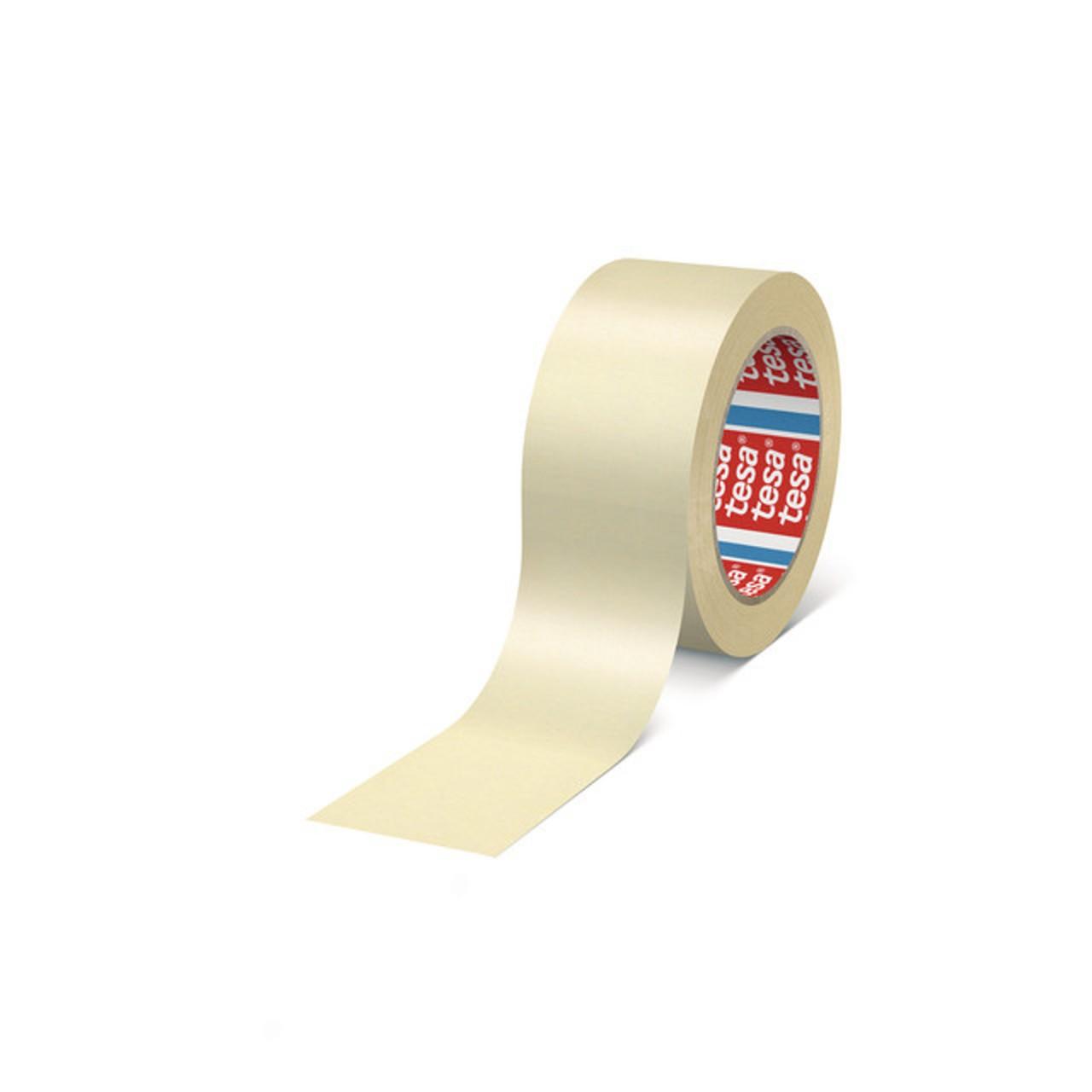 tesa 4329, Papierabdeckband für Lackierarbeiten, pastellgelb