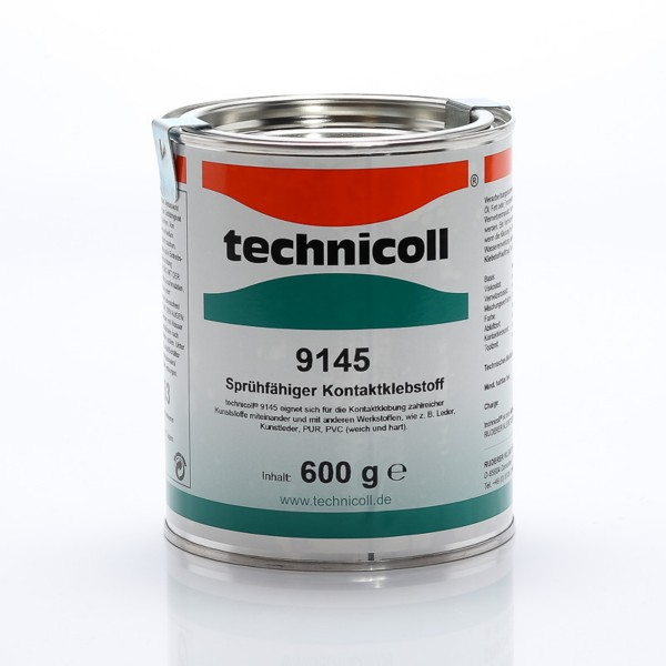 technicoll 9145, Spritzfähiger 2-K PUR Kontaktklebstoff, 600g