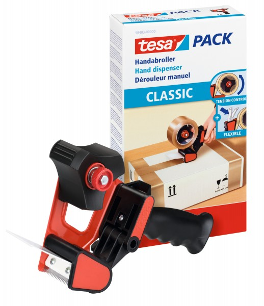 tesa 56403, Handabroller CLASSIC, Packbandabroller