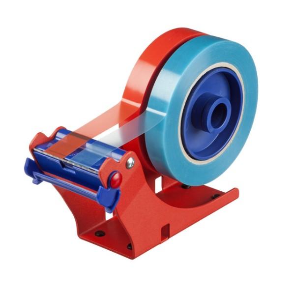 tesa 6012, Tischabroller, rot-blau