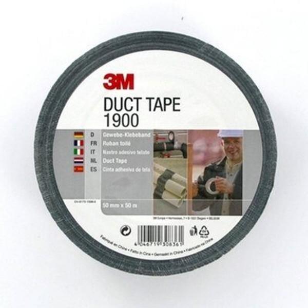 3M 1900, Gewebeklebeband, Duct Tape, silber
