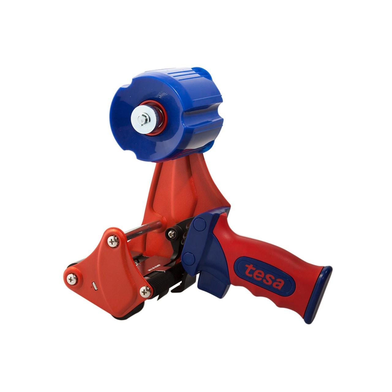 tesa 6075, Handabroller, rot-blau